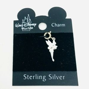 New Disney 925 Sterling Silver Tinker Bell Charm